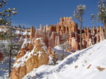 Bryce Canyon under snow