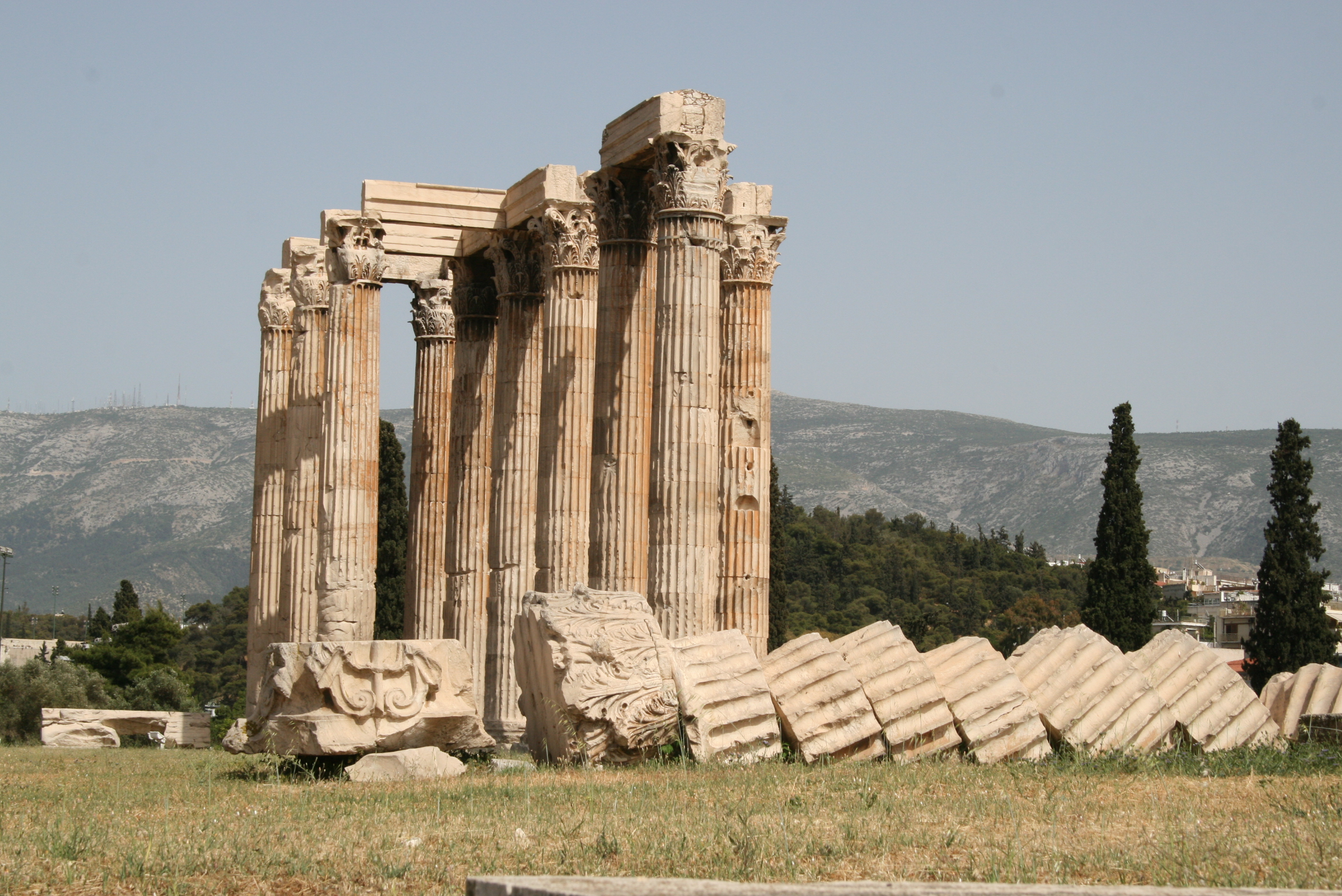 Olympion in Athenes, Greece