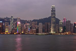 Hong Kong bay by Night