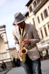 Jazzman in Florence