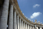 The columns of St Peter