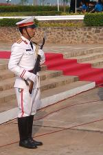 Soldier of the presidential guard