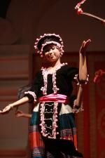 Dancer dressed in Hmong Vientiane