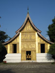 Golden pagoda of Wat Xieng Thong