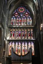 Stained glass window of the Cathedral of Metz