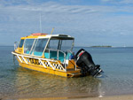 Water taxi from Anse Vata
