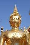 Buddha facing us