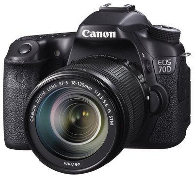 Announcement of the Canon EOS 70D