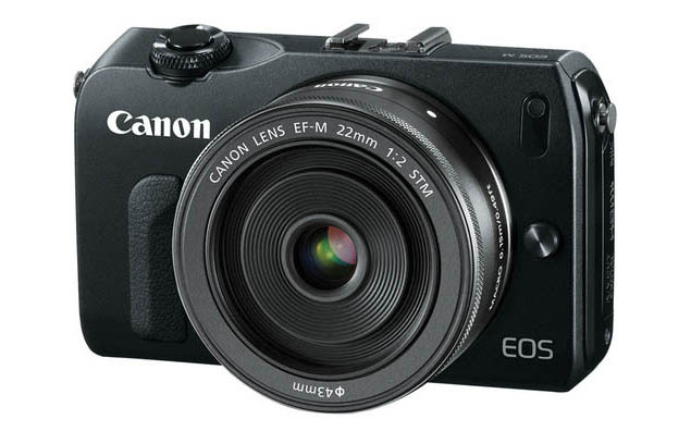 Photo of Canon EOS M and announces close