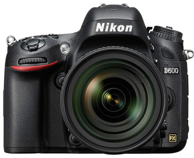 Formalization of the Nikon D600