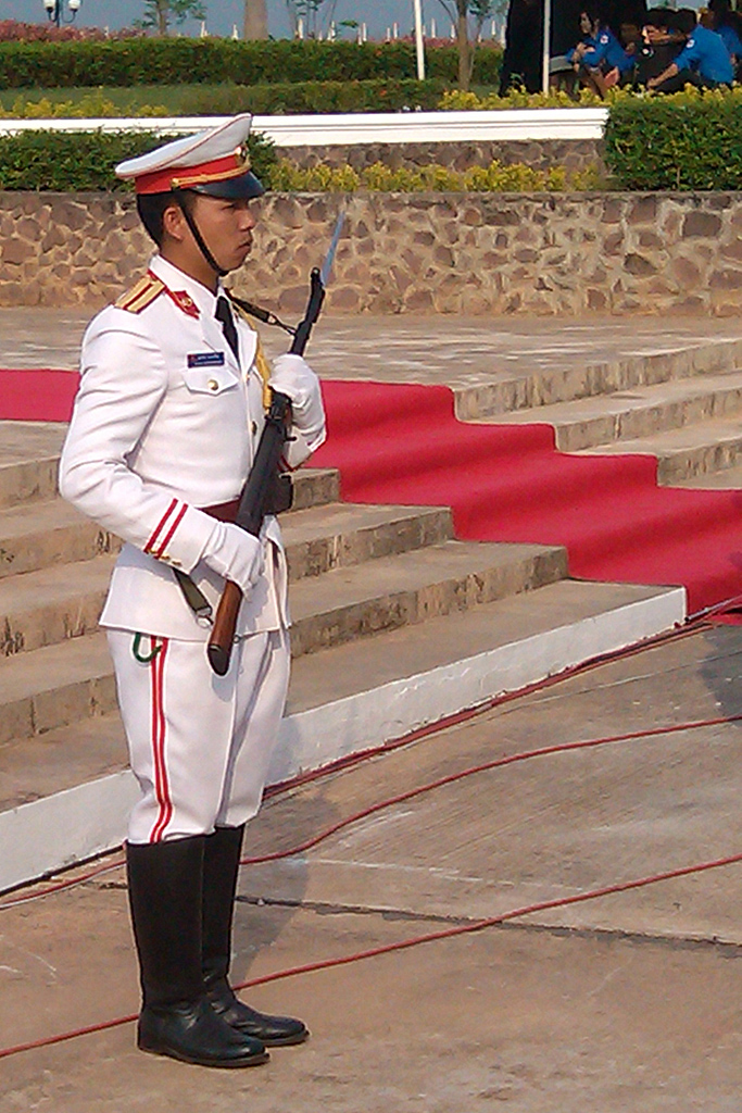 Soldier of the presidential guard on Freemages